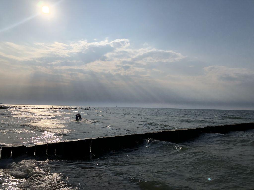 Reise nach Ostsee mit Kind reisen alleinerziehend unterwegs sonnenuntergang meer
